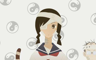 Kobushi Abiru - Sayonara, Zetsubo-Sensei [7] wallpaper