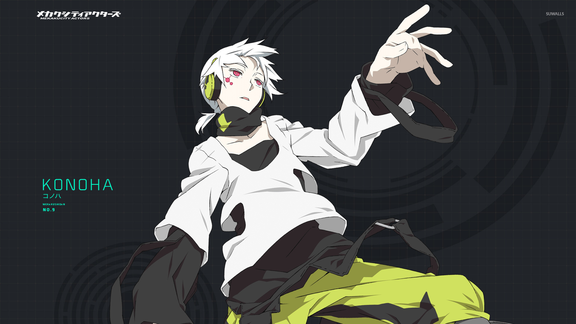mekaku city actors wallpaper phone - photo #10