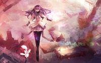 Kyoko Sakura - Puella Magi Madoka Magica [3] wallpaper 1920x1080 jpg