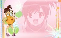 Kyon's sister in The Melancholy of Haruhi Suzumiya wallpaper 1920x1200 jpg