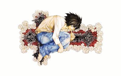 L - Death Note [7] wallpaper