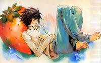 L - Death Note [6] wallpaper 1920x1200 jpg