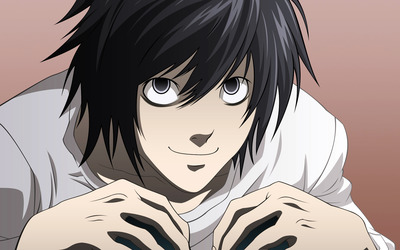 L - Death Note [3] wallpaper