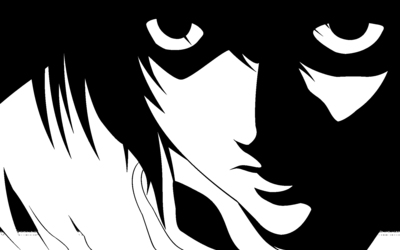 L - Death Note wallpaper