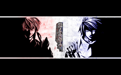 L - Death Note [2] wallpaper