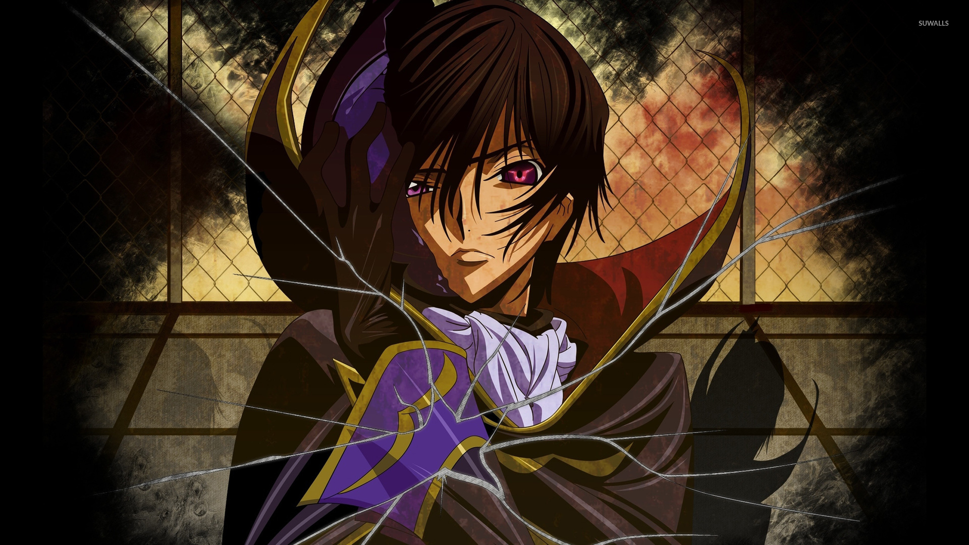 lelouch lamperouge code geass wallpaper anime. Black Bedroom Furniture Sets. Home Design Ideas