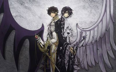 Lelouch & Suzaku - Code Geass wallpaper
