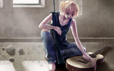 Len Kagamine - Vocaloid wallpaper