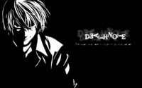 Light - Death Note [4] wallpaper 1920x1200 jpg