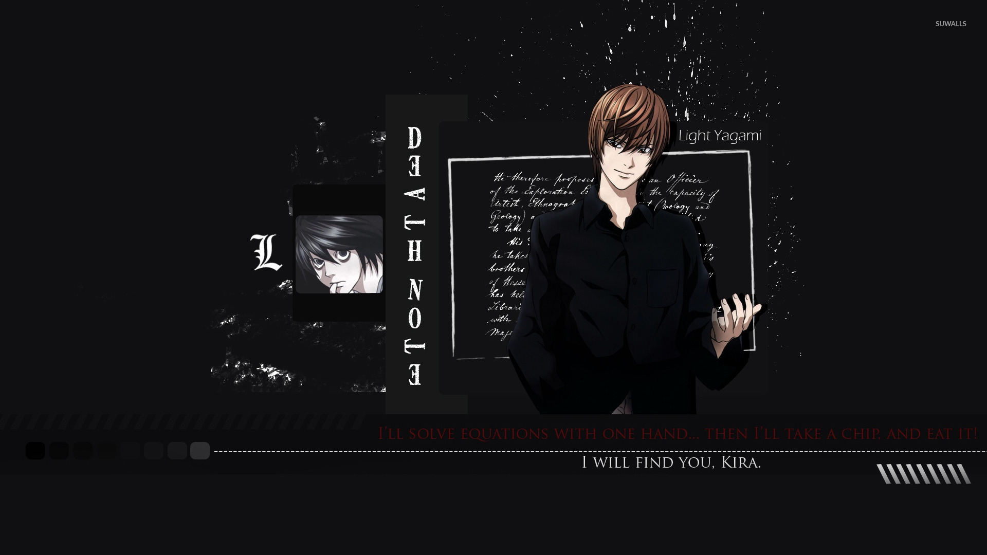 Light - Death Note [10] wallpaper - Anime wallpapers - #13928