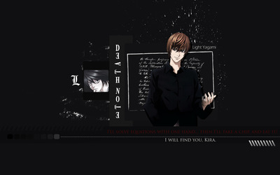 Light - Death Note [10] wallpaper