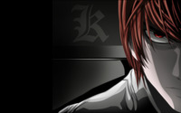 Light - Death Note [2] wallpaper 1920x1200 jpg