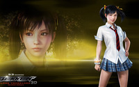 Ling Xiaoyu - Tekken: Blood Vengeance wallpaper 1920x1080 jpg