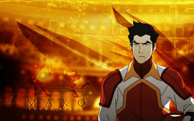Mako - Avatar: The Legend of Korra wallpaper