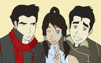 Mako, Korra and Bolin wallpaper 2560x1600 jpg