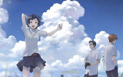 Makoto Konno - The Girl Who Leapt Through Time wallpaper