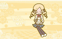 Mami Tomoe having tea - Puella Magi Madoka Magica wallpaper 1920x1080 jpg