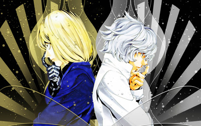 Mello and Near wallpaper
