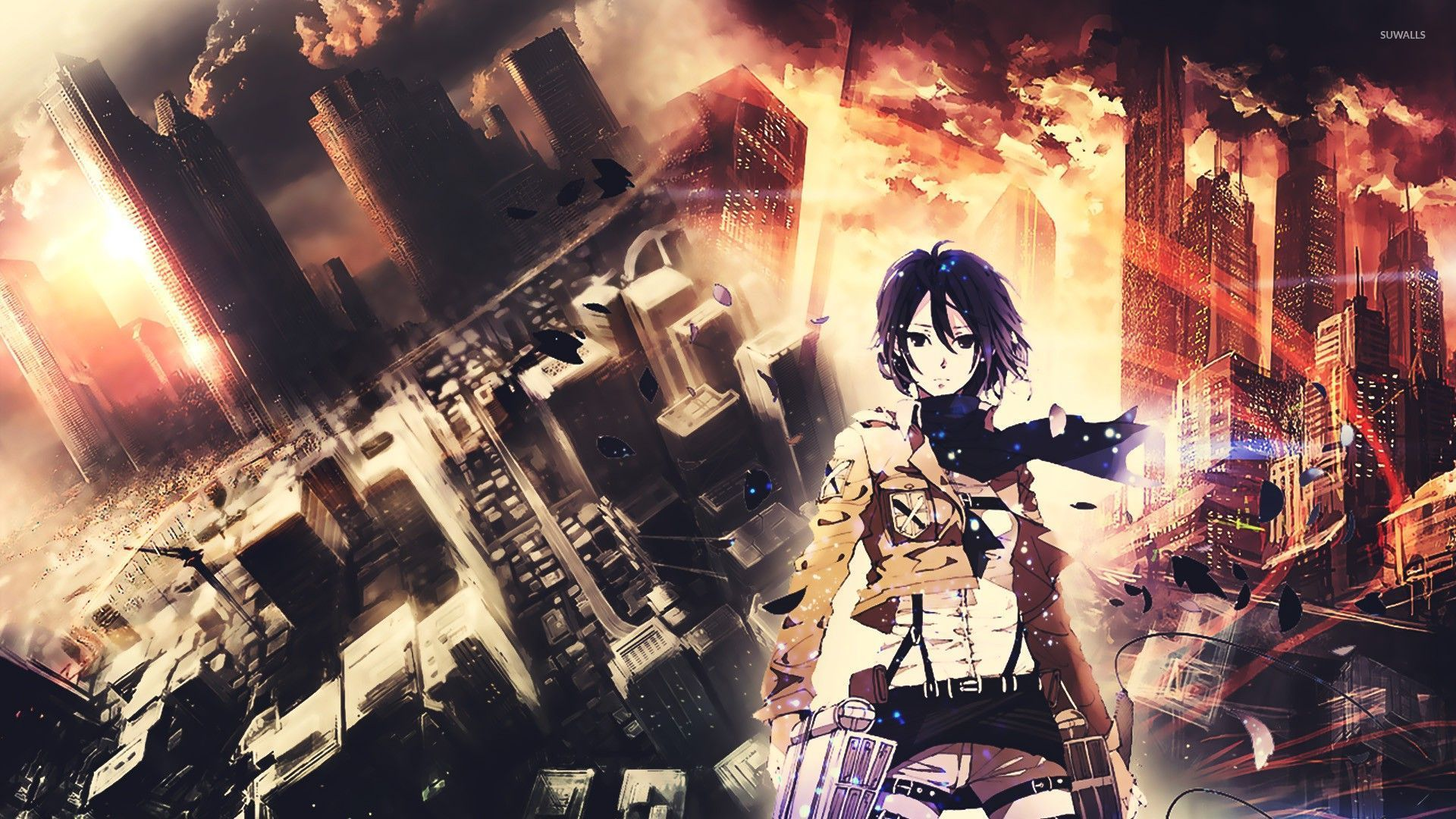 Mikasa Ackerman Attack On Titan 11 Wallpaper Anime