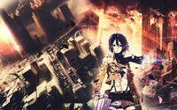 Mikasa Ackerman - Attack on Titan [11] wallpaper 1920x1080 jpg