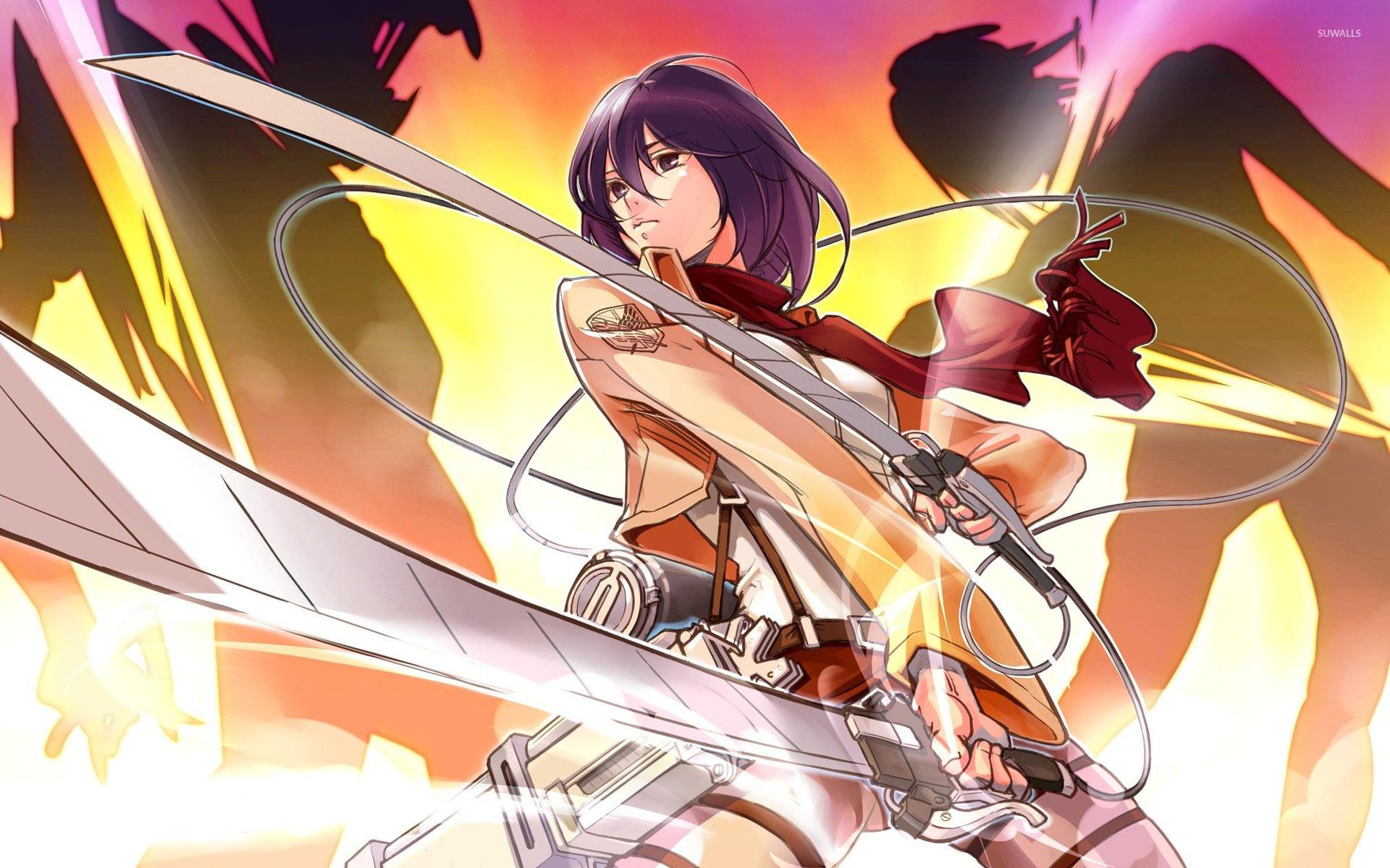 Mikasa Ackerman - Attack on Titan wallpaper - Anime wallpapers ...