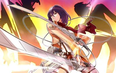 Mikasa Ackerman - Attack on Titan [14] Wallpaper