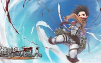Mikasa Ackerman - Attack on Titan [9] wallpaper 1920x1080 jpg
