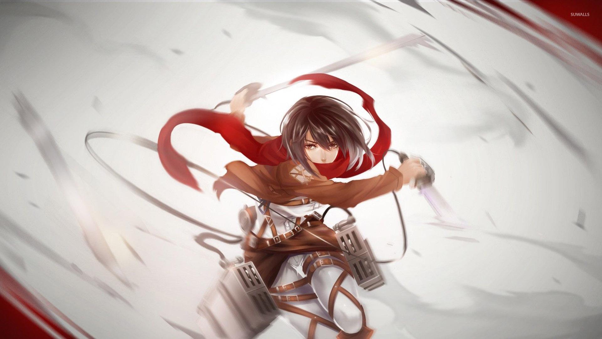 Mikasa ackerman attack on titan wallpaper anime wallpapers mikasa ackerman attack on titan wallpaper voltagebd Image collections