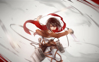 Mikasa Ackerman - Attack on Titan wallpaper 1920x1080 jpg