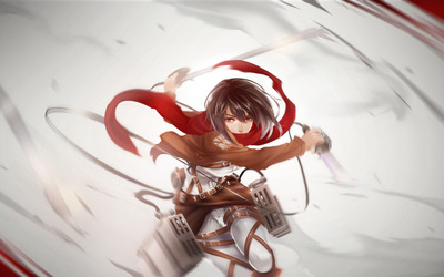 Mikasa Ackerman - Attack on Titan wallpaper