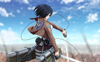 Mikasa Ackerman - Attack on Titan [2] wallpaper 1920x1200 jpg
