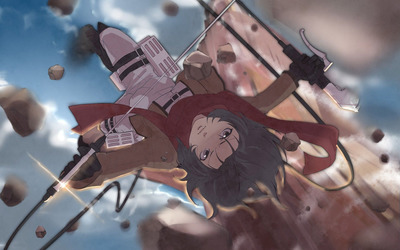 Mikasa Ackerman - Attack on Titan [15] wallpaper