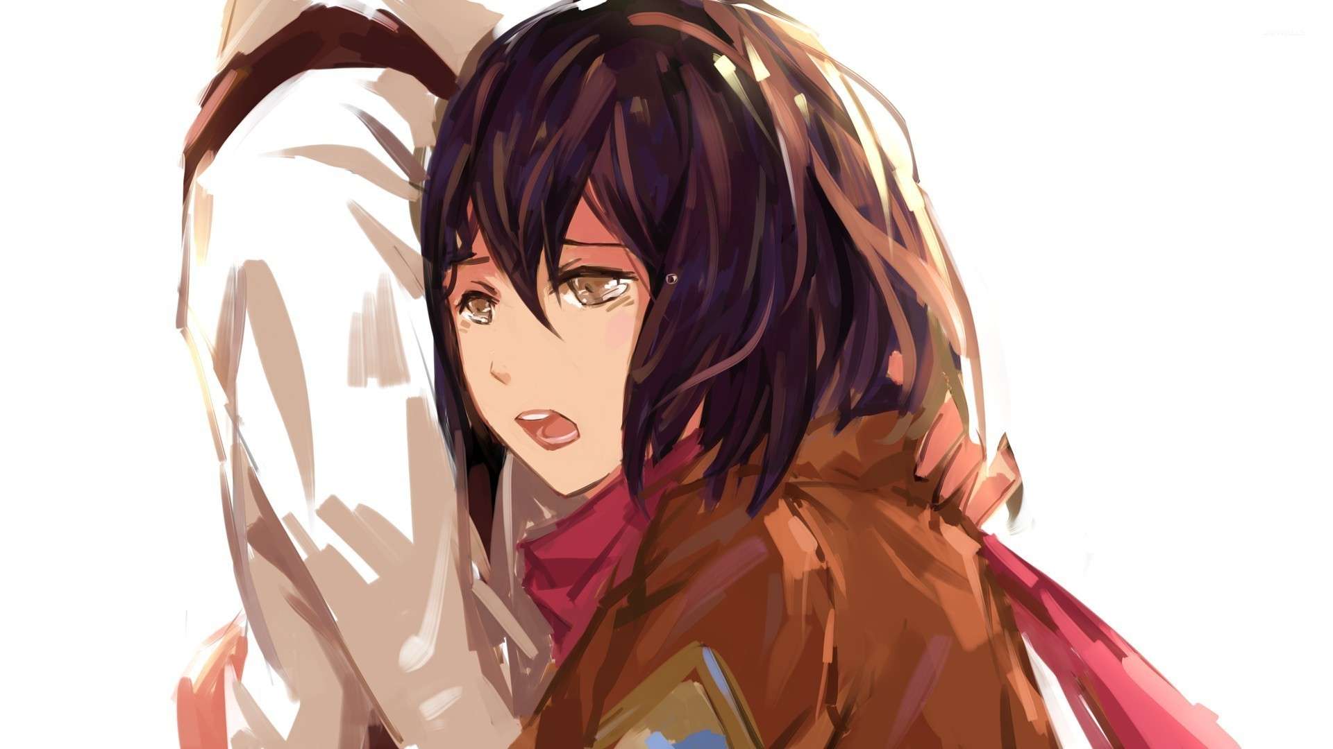 Mikasa ackerman from attack on titan wallpaper anime wallpapers mikasa ackerman from attack on titan wallpaper voltagebd Image collections