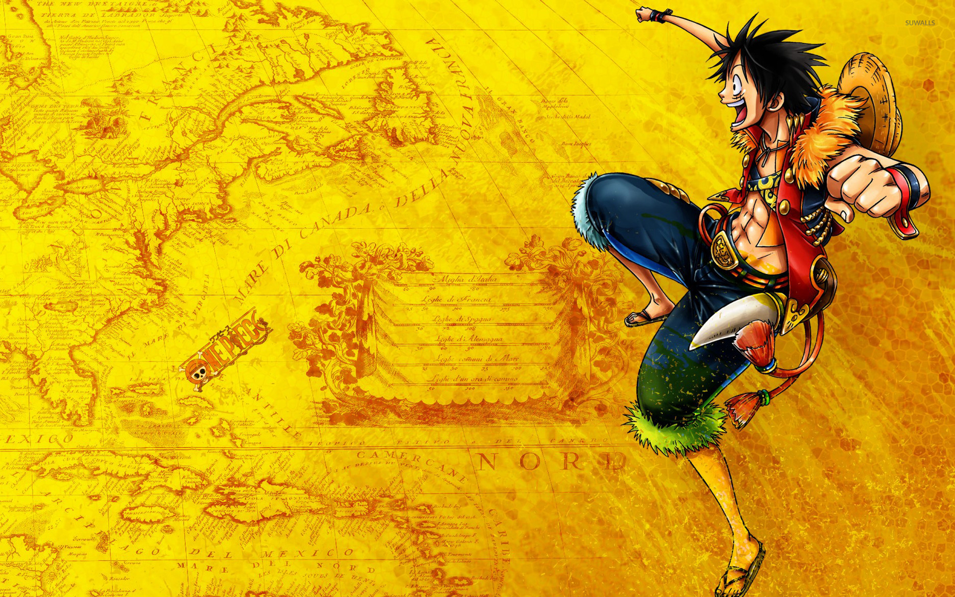 Monkey D Luffy One Piece 4 Wallpaper Anime Wallpapers