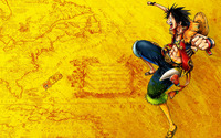 Monkey D. Luffy - One Piece [4] wallpaper 1920x1200 jpg