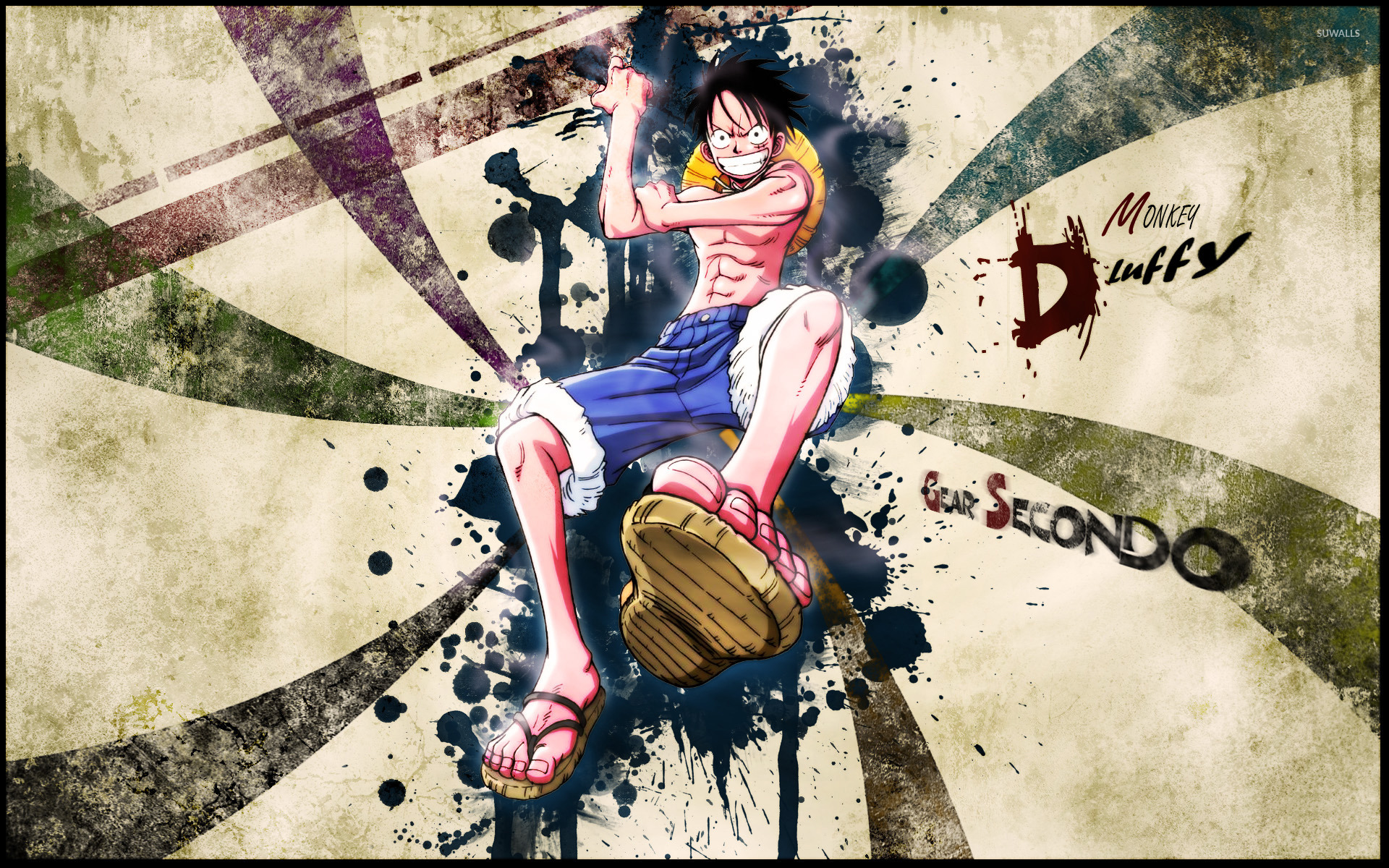 monkey d. luffy - one piece [3] wallpaper - anime wallpapers - #13995