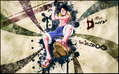 Monkey D. Luffy - One Piece [3] wallpaper