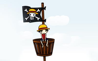 Monkey D. Luffy - One Piece [5] Wallpaper