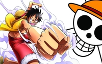 Monkey D. Luffy - One Piece [6] wallpaper 1920x1080 jpg