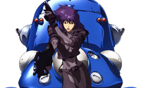 Motoko Kusanagi - Ghost in the Shell [2] wallpaper 2560x1600 jpg