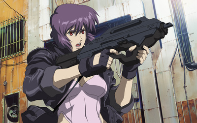 Motoko Kusanagi - Ghost in the Shell: Stand Alone Complex wallpaper