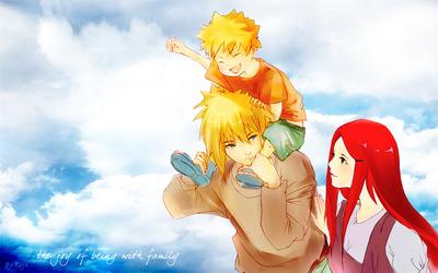 Naruto Family wallpaper