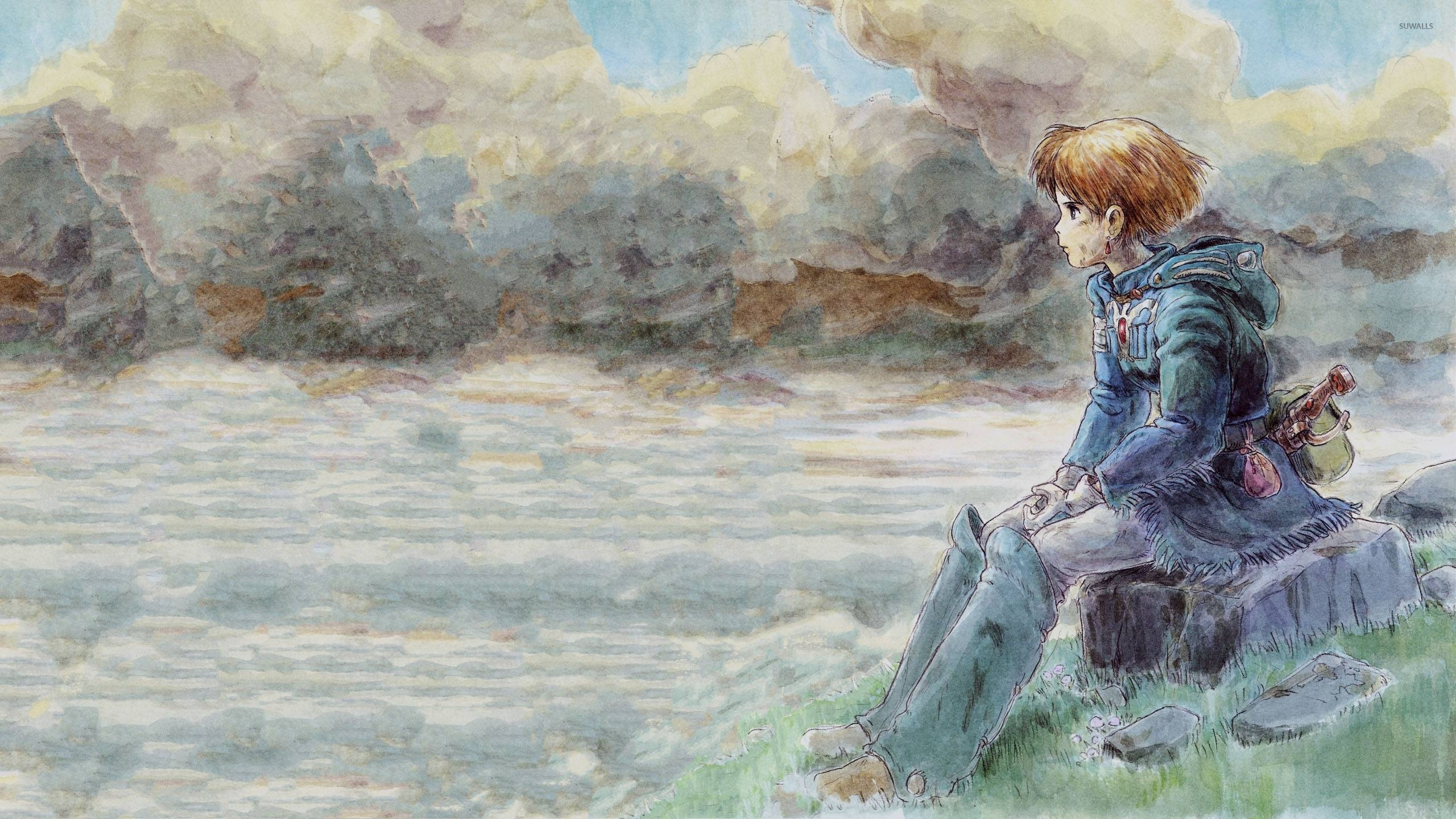 Nausicaa of the Valley of the Wind wallpaper - Anime ...