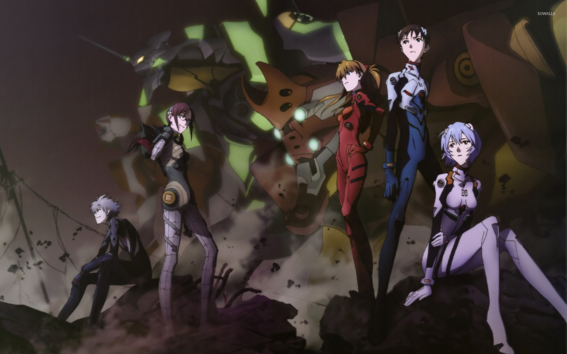 Neon Genesis Evangelion Wallpaper Anime Wallpapers 4028