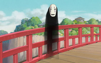No-Face - Spirited Away wallpaper 2880x1800 jpg