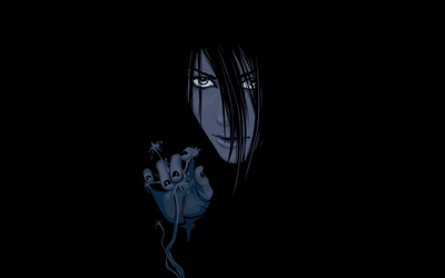 Orochimaru appearingfrom the darkness - Naruto wallpaper