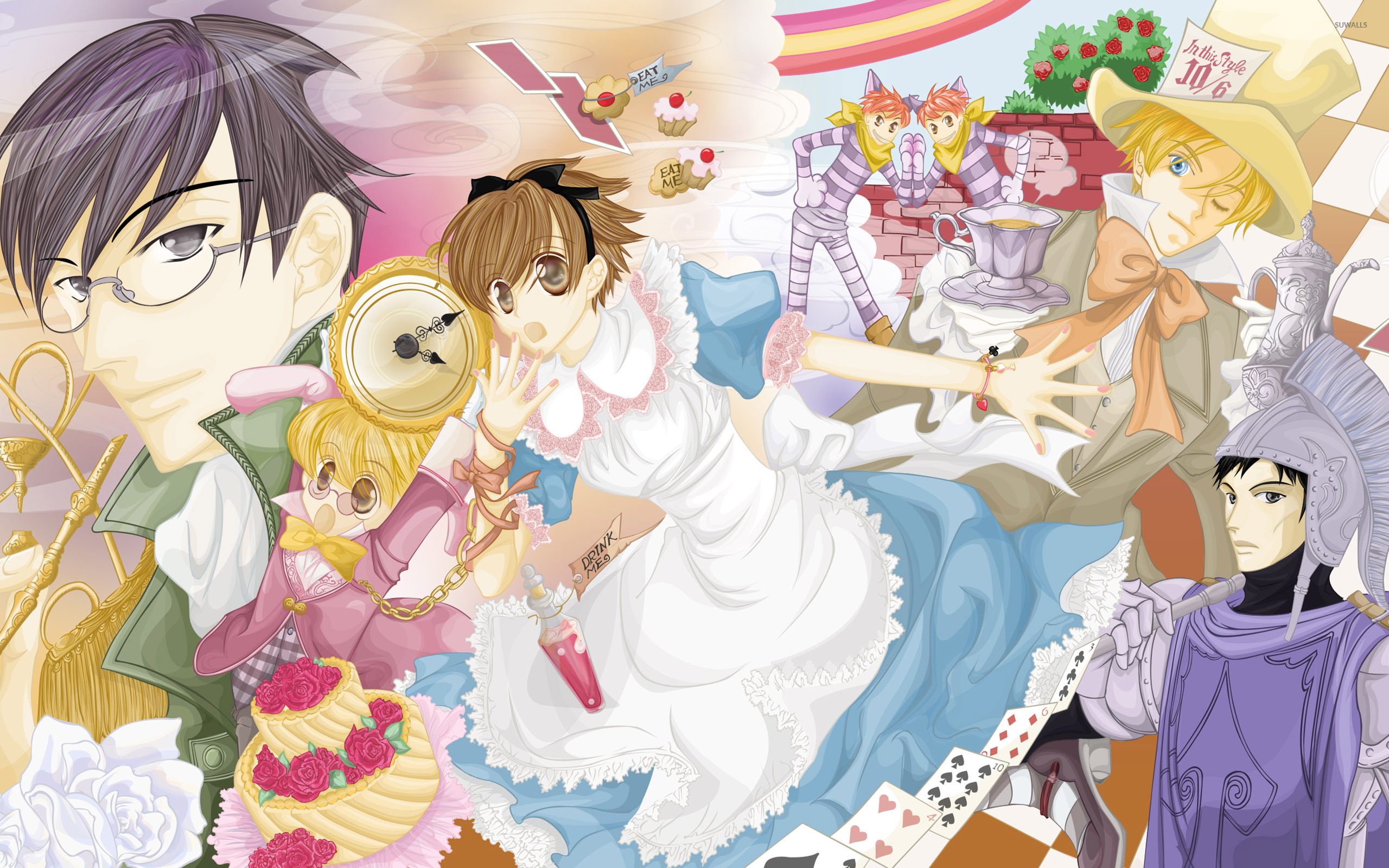 Ouran High School Host Club 3 Wallpaper Anime Wallpapers 29298
