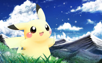 Pikachu - Pokemon [2] wallpaper 1920x1200 jpg