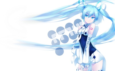 Posing Hatsune Miku - Vocaloid wallpaper