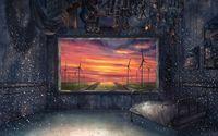 Prison-like room wallpaper 1920x1200 jpg